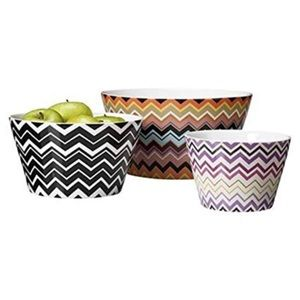 Missoni x Target Set Nesting Mixing Serving Bowls